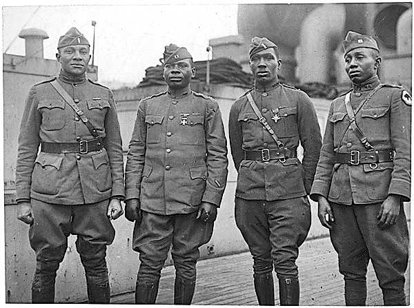 WWI Black officers