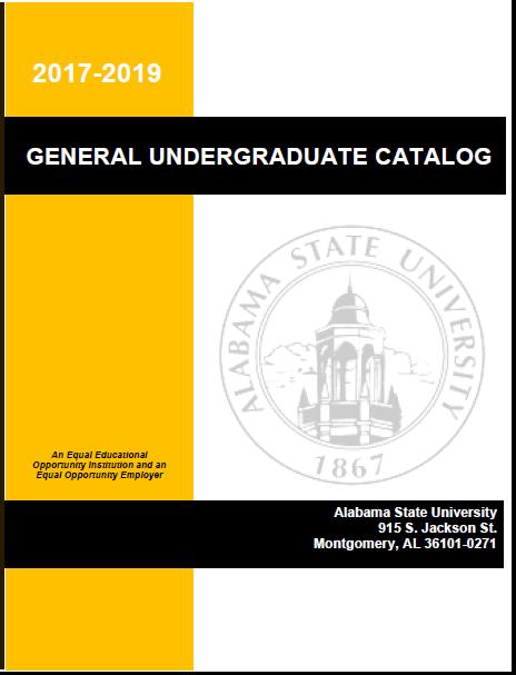 Official Catalog | Alabama State University