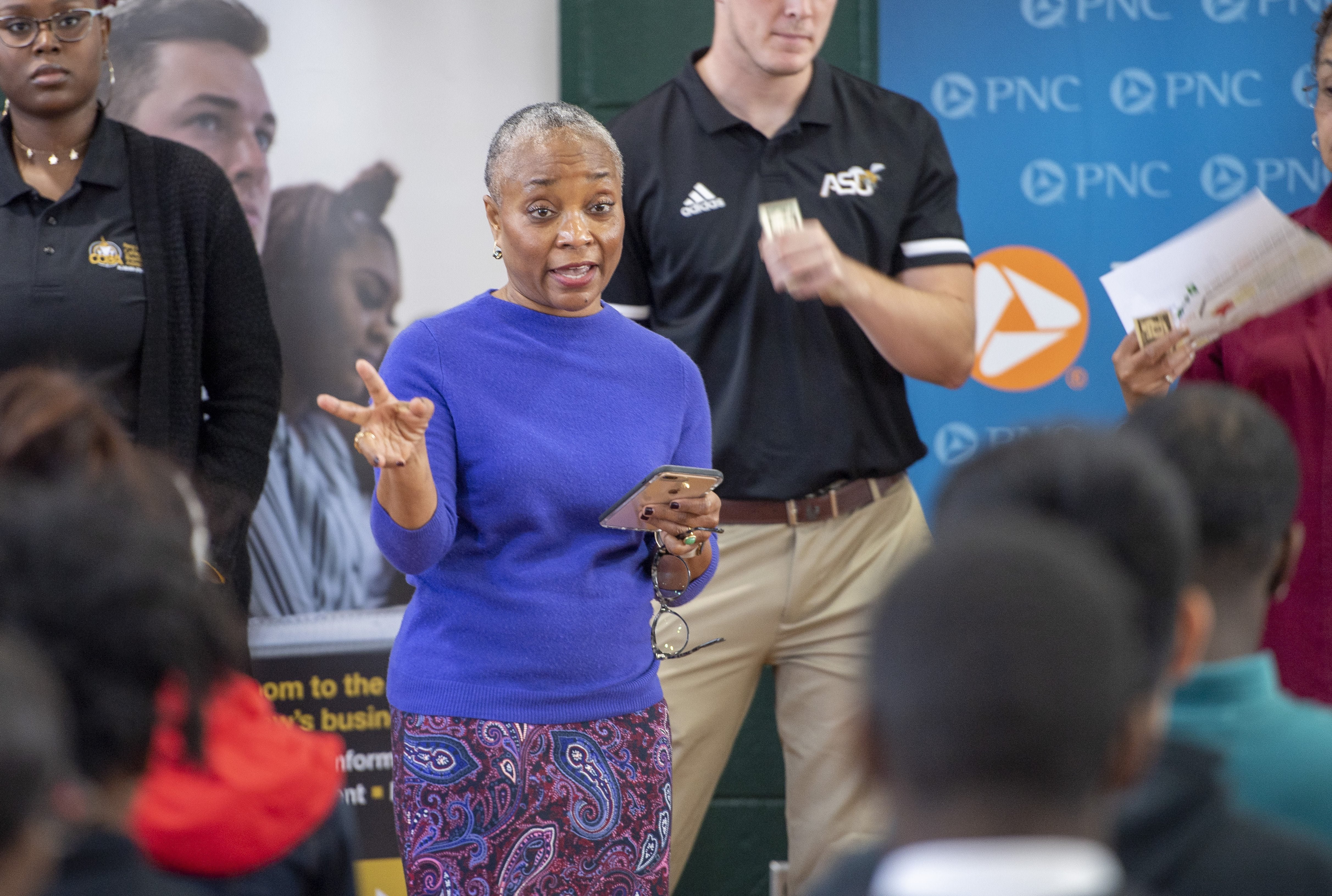 Michelle Jenkins, Community Relationship Manager at PNC Bank