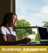 Academic Advisement Orientation Button