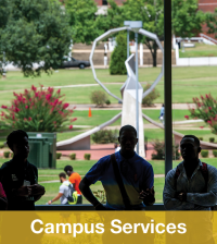 Campus Services Orientation Button