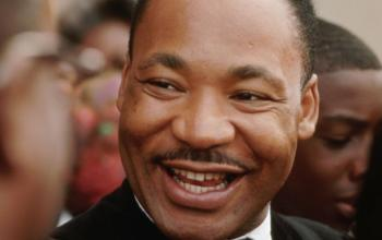 dr. king smiling