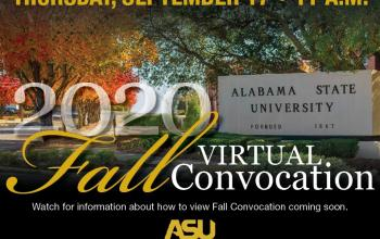 Fall Convocation Flyer