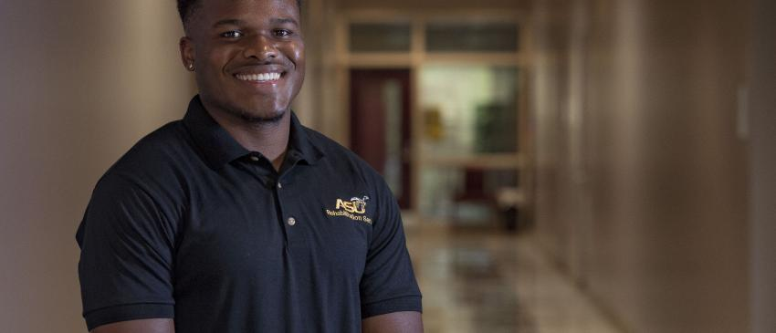 Rehabilitation Services Student,Anthony Jones, Jr.