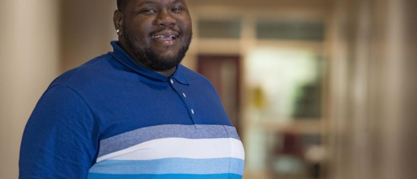 Rehabilitation Services Student, Frank Smith