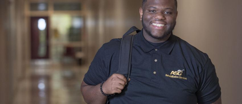 Rehabilitation Services Student, William Smith