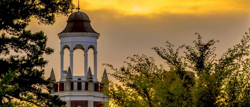 The Cupola on top of Bibb Graves Hall