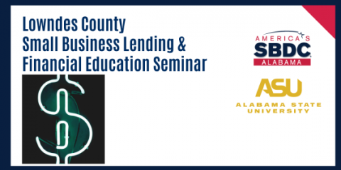 Financial Education Seminar event flyer