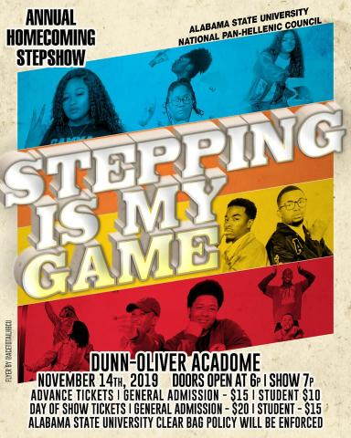 Stepshow graphic