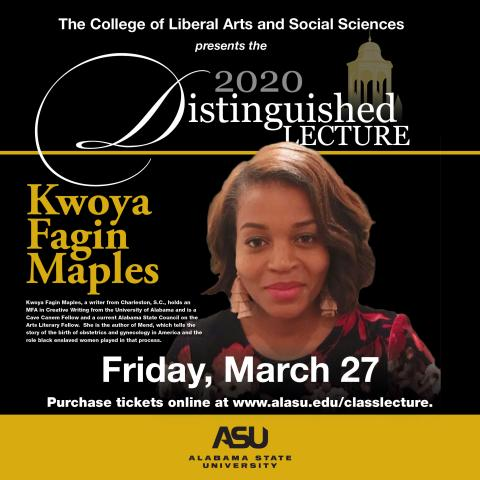 Distinguished Lecture Series Flyer