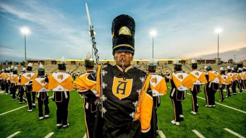 ASU's Mighty Marching Hornets Band