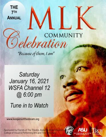 MLK Community Celebration graphic