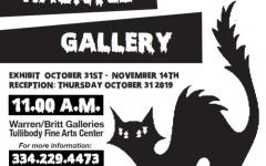 A Haunted Halloween Gallery Flyer
