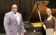 music student Janet Lagah Bona with Dr. Adonis gonzalez.jpg